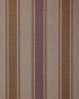 Stripes wallpaper wall covering EDEM 508-24 blown vinyl wallcovering textured fabric look and metallic highlights brown red-brown pearl-gold silver 5.33 m2 (57 ft2)