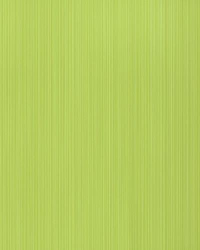 Uni kleuren behang EDEM 598-25 opgeschuimd vinylbehang gestructureerd met strepen mat groen geelgroen zwavelgeel 5,33 m2 – Bild 1