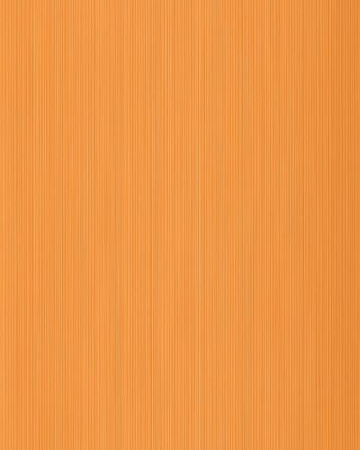 Uni kleuren behang EDEM 598-26 opgeschuimd vinylbehang gestructureerd met strepen mat oranje pasteloranje geeloranje 5,33 m2 – Bild 1
