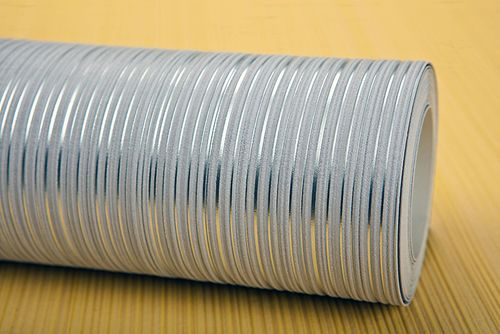 Uni kleuren behang EDEM 598-26 opgeschuimd vinylbehang gestructureerd met strepen mat oranje pasteloranje geeloranje 5,33 m2 – Bild 7