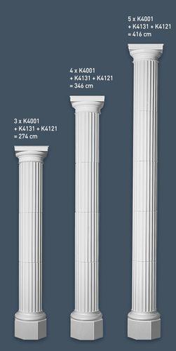 Halbsäule Segment K4001 72 cm – Bild 2