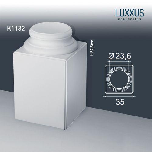Zuilen Voetstuk Origineel Orac Decor K1132 LUXXUS Hoge vierkante sokkel voor volle zuilen – Bild 1
