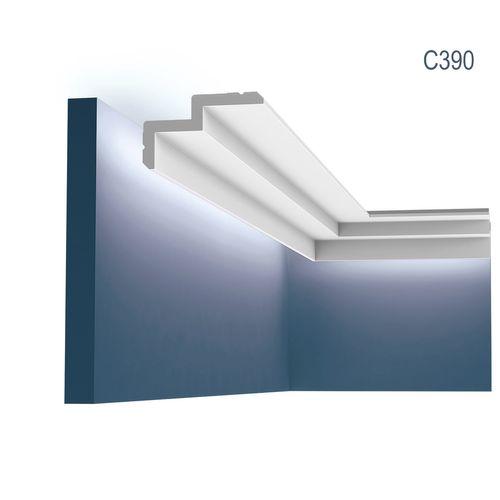 Orac Decor C390 MODERN STEPS Eckleiste Zierleiste Indirekte Beleuchtung 2 m – Bild 1