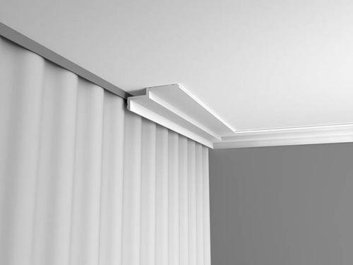 Cornisa Orac Decor C391 MODERN STEPS Moldura para luz indirecta Moldura para decoración de pared y techo 2m – Imagen 3