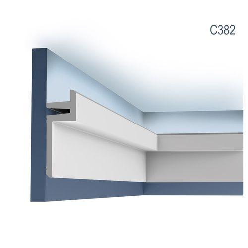 Orac Decor C382 MODERN L3 Eckleiste Zierleiste Indirekte Beleuchtung 2 m – Bild 1