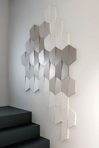 3d wall panel Deco element Orac Decor W101 MODERN TRAPEZIUM – Bild 3
