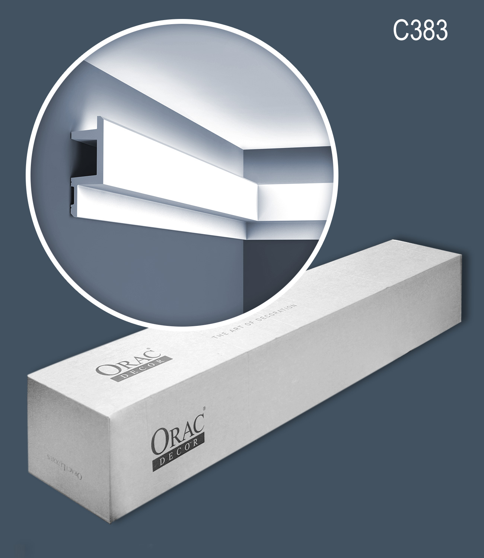 Orac Decor C383 MODERN L3 1 Box 12 pieces Cornice moulding | 24 m