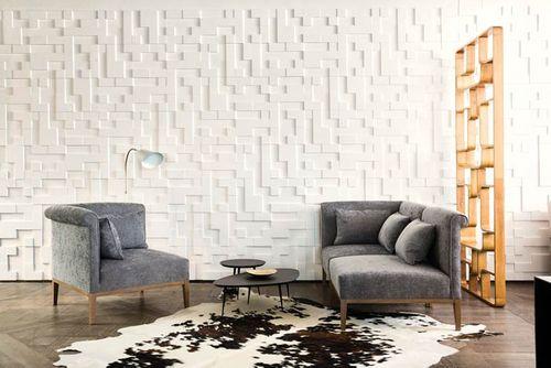 5 pieces 0,55 m2 3d wall panel 1 Box Orac Decor W102 MODERN CUBI – Bild 4