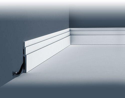 plinthe orac decor sx180 modern high line moulure. Black Bedroom Furniture Sets. Home Design Ideas