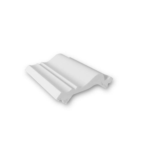 1 PROEFMONSTER S-SX122 Orac Decor AXXENT | STAAL Plint Sierprofiel lengte ong. 10 cm – Bild 1