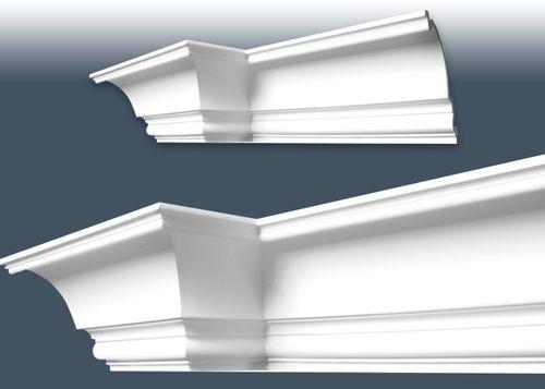 1 MUSTERSTÜCK S-C836 Orac Decor XTERIO | MUSTER Eckleiste Fassadenleiste ca. 10 cm lang – Bild 3