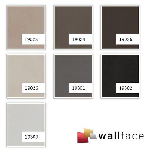 Pannello decorativo aspetto pelle WallFace 19024 DOVE TALE pannello murale liscio con aspetto nappa opaco autoadesivo marrone beige-grigiastro 2,6 m2 – Bild 4
