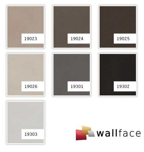 Wall panel leather look WallFace 19301 CHARCOAL LIGHT smooth decor panel nappa leather look matt self-sticking grey quartz-gray 2,6 m2 – Bild 2