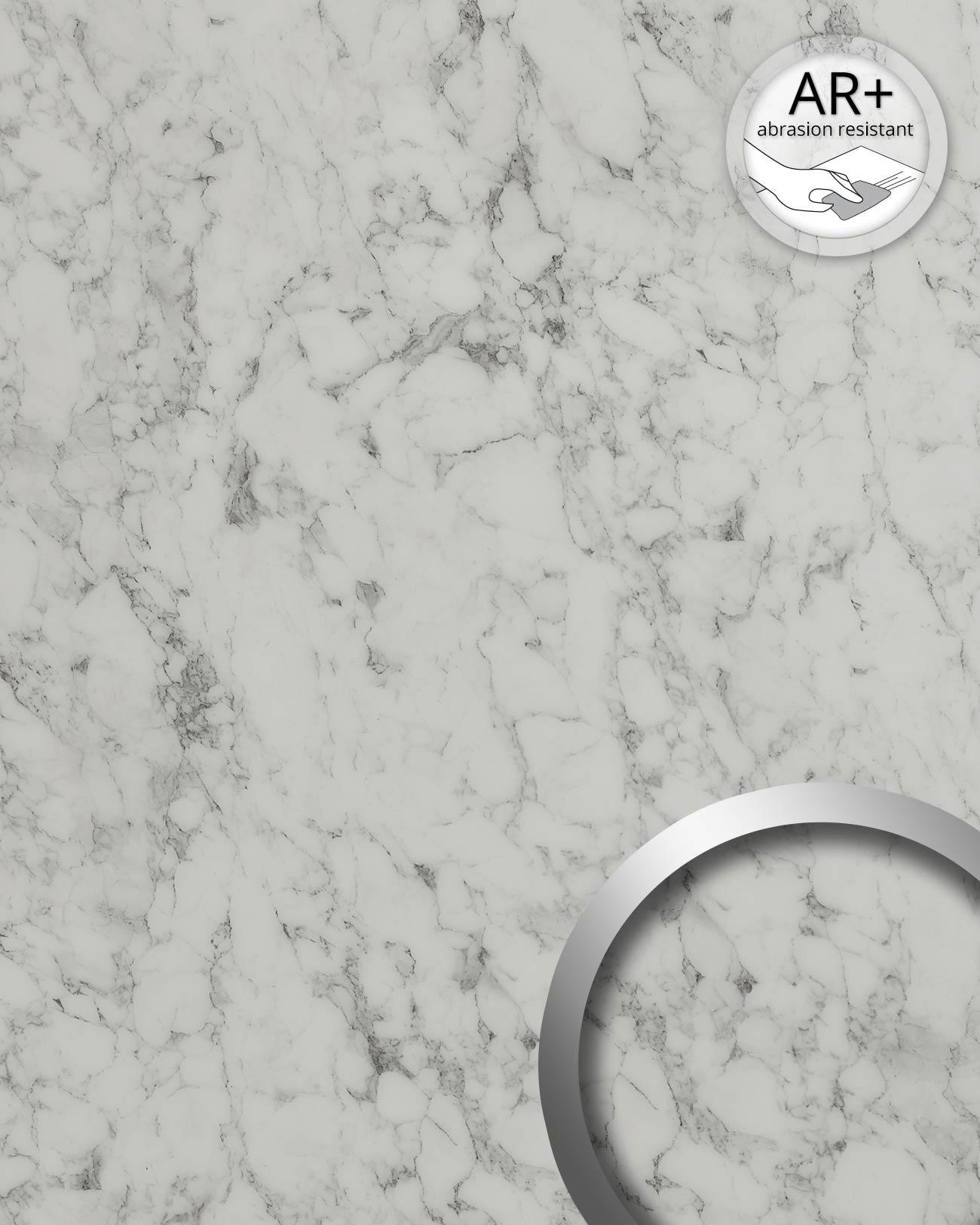 wandpaneel marmor optik wallface 19345 marble white. Black Bedroom Furniture Sets. Home Design Ideas