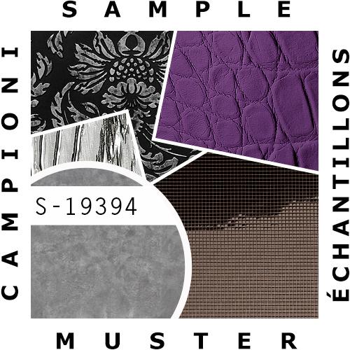 1 MUSTERSTÜCK S-19394 WallFace CLASSY SILVER Deco Collection | Wandpaneel MUSTER in ca. DIN A4 Größe – Bild 2