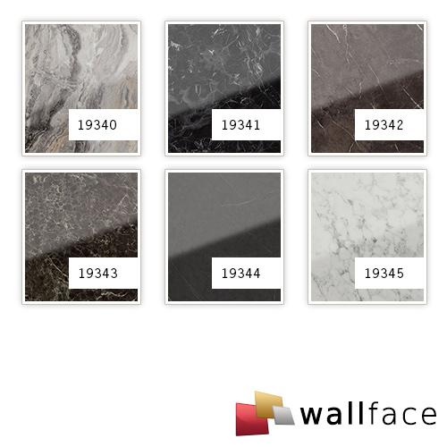 1 PIEZA DE MUESTRA S-19343-SA-AR WallFace MARBLE EMPERADOR AR+ S-Glass Collection | Muestra panel decorativo en tamaño aprox DIN A4 – Imagen 3