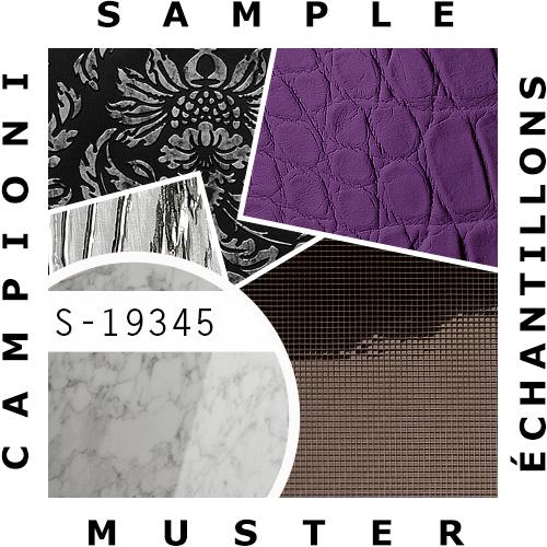 1 MUSTERSTÜCK S-19345 WallFace MARBLE WHITE AR+ S-Glass Collection | Wandverkleidung MUSTER in ca. DIN A4 Größe – Bild 2