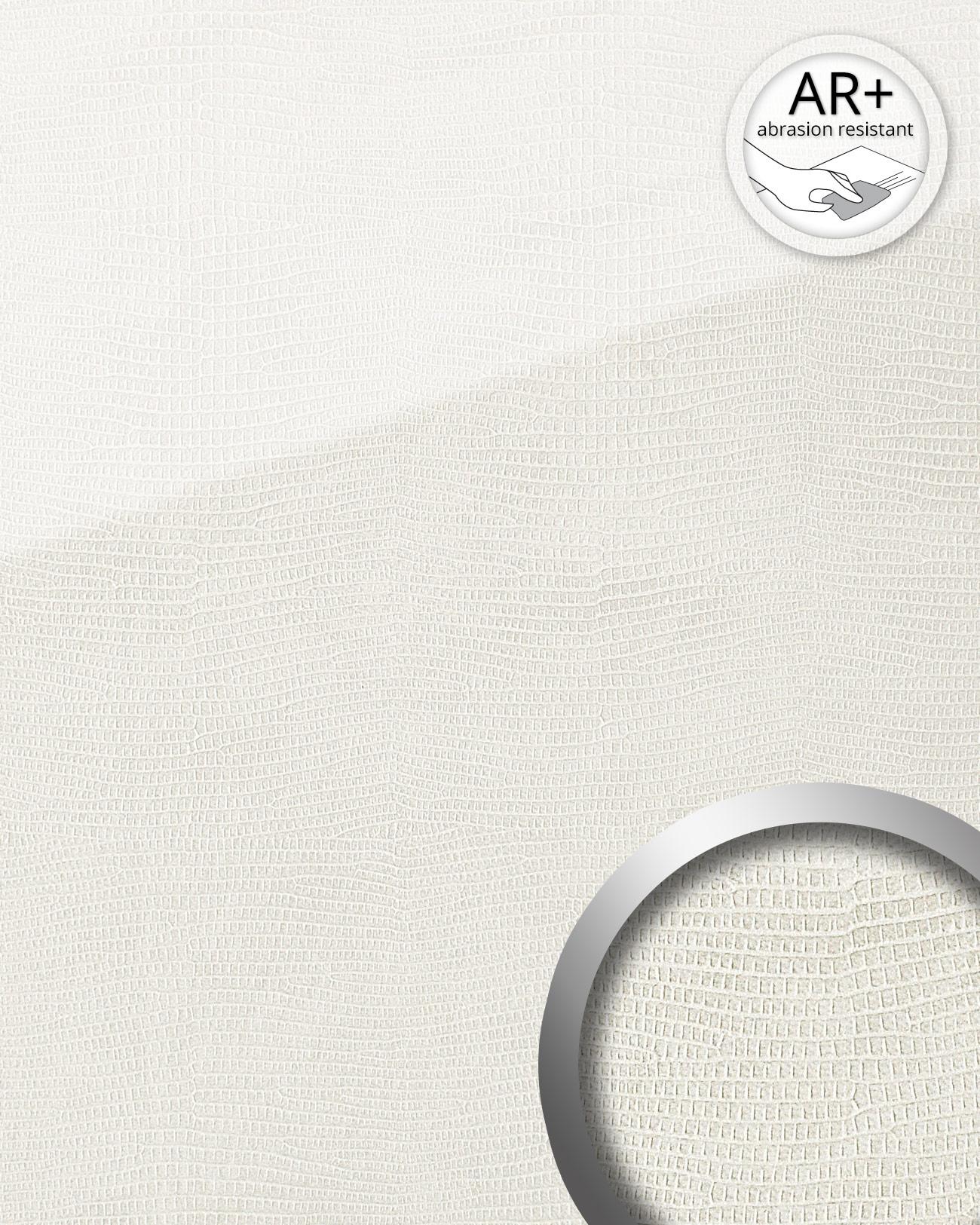 dekorpaneel leder optik wallface 19305 leguan bianco wandverkleidung glatt in glas optik. Black Bedroom Furniture Sets. Home Design Ideas