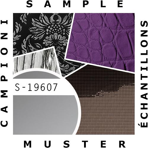 1 MUSTERSTÜCK S-19607 WallFace SILVER METALLIC AR Deco Collection | Wandverkleidung MUSTER in ca. DIN A4 Größe – Bild 2