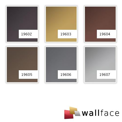 1 ÉCHANTILLON S-19602-SA WallFace ANTHRACITE METALLIC AR Deco Collection | ÉCHANTILLON panneau décoratif au format A4 – Bild 4