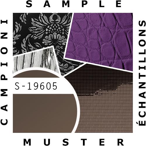 1 MUSTERSTÜCK S-19605 WallFace BROWN METALLIC AR Deco Collection | Wandverkleidung MUSTER in ca. DIN A4 Größe – Bild 2