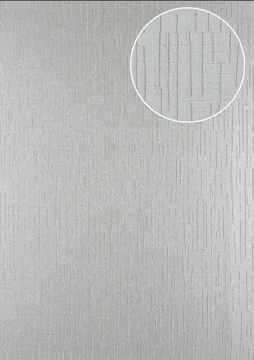 Grafik tapete atlas 24c 5057 6 vliestapete strukturiert for Tapete grau mit muster