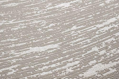 Papier peint de luxe exclusif Atlas COL-552-1 papier peint intissé texturé au used look satiné gris beige-gris beige nacré 5,33 m2 – Bild 3