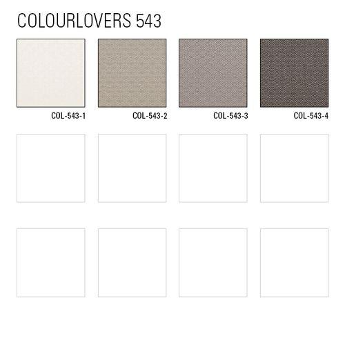 Luxus Struktur Tapete Atlas COL-543-3 Vliestapete Luxus Strukturiert unifarben schimmernd grau platin-grau silber 5,33 m2 – Bild 4