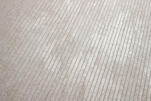 Empapelado texturado Atlas COL-563-3 papel pintado no tejido texturado tono sobre tono efecto satinado crema marfil-claro 5,33 m2 – Imagen 3