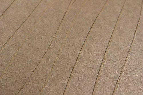 Streifen Tapete Atlas COL-566-3 Vliestapete glatt Design schimmernd braun stein-grau gold 5,33 m2 – Bild 2