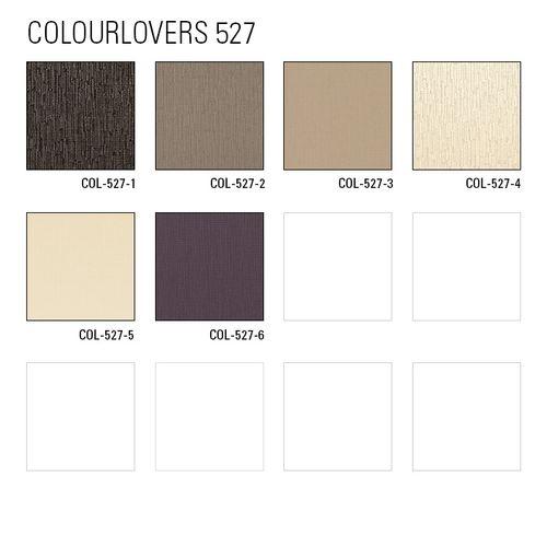 Papier peint texturé Atlas COL-527-4 papier peint intissé texturé unicolore satiné blanc blanc-crème 5,33 m2 – Bild 4