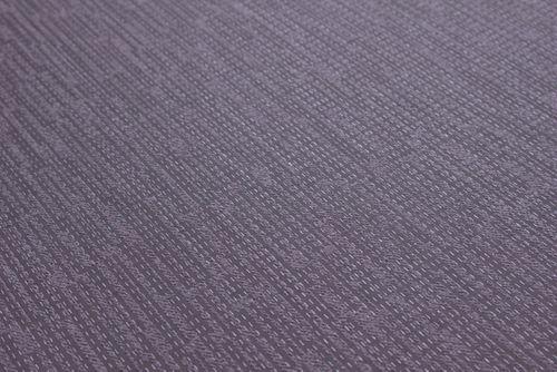 Struktur Tapete Atlas COL-527-6 Vliestapete strukturiert unifarben schimmernd violett purpur-violett pastell-violett 5,33 m2 – Bild 3