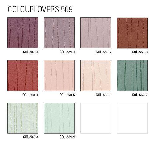 Edle Streifen Tapete Atlas COL-569-0 Vliestapete glatt Design schimmernd violett rot-lila perl-violett 5,33 m2 – Bild 4