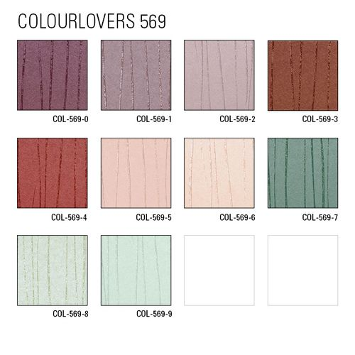 Edle Streifen Tapete Atlas COL-569-7 Vliestapete glatt Design schimmernd grün mint-türkis 5,33 m2 – Bild 4