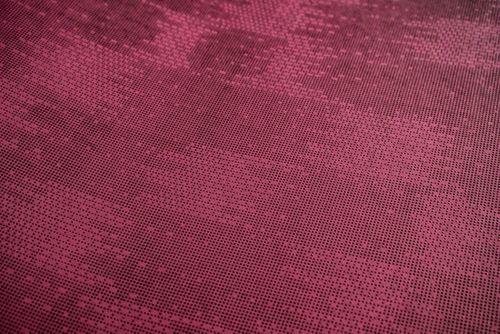 Papier peint unicolore Atlas COL-499-1 papier peint intissé texturé avec une texture tangible mat rouge rouge-pourpre violet rouge 5,33 m2 – Bild 3