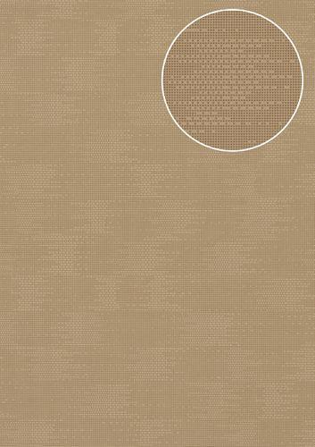 Papel pintado liso Atlas COL-499-3 papel pintado no tejido texturado con textura perceptible mate beige beige-agrisado 5,33 m2 – Imagen 1