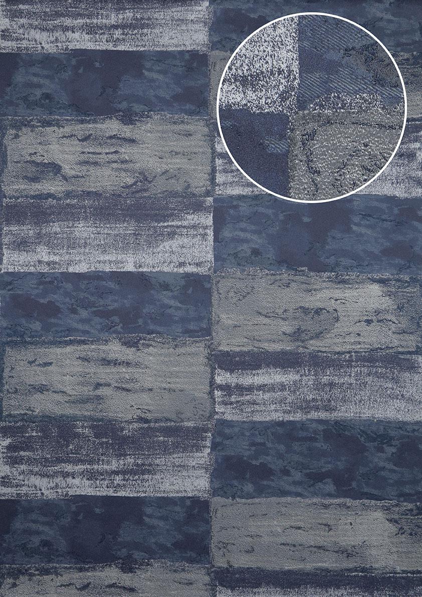 Stone tile wallpaper wall Atlas ICO-5072-7 non-woven wallcovering ...