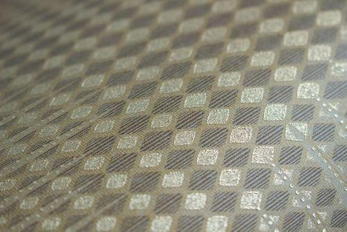 Grafik Tapete Atlas ICO-5074-2 Vliestapete glatt mit geometrischen Formen und metallischen Akzenten gold braun 7,035 m2 – Bild 3
