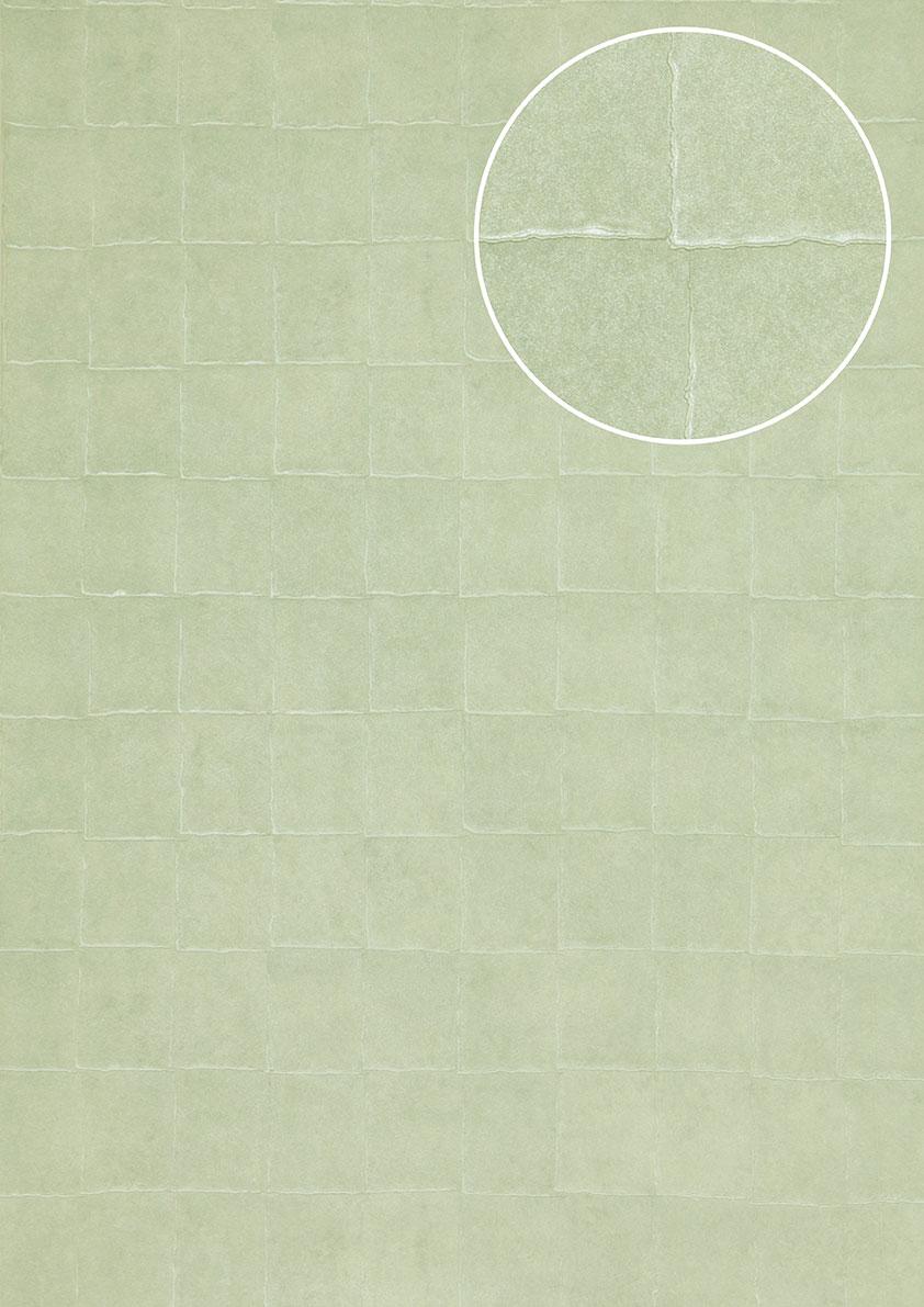 atlas ins 5080 6 stein kacheln tapete geometrisch schimmernd mint t rkis 7 035m2 ebay. Black Bedroom Furniture Sets. Home Design Ideas