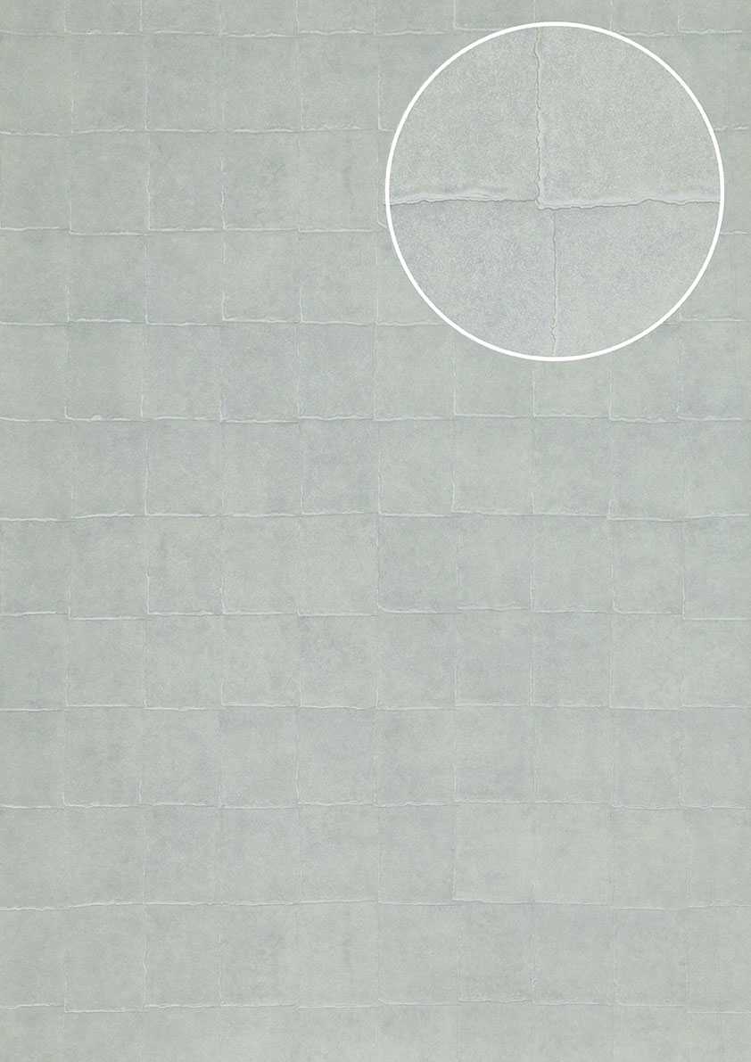 atlas ins 0805 7 stein kacheln tapete geometrisch. Black Bedroom Furniture Sets. Home Design Ideas