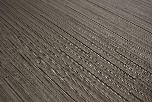 Papier peint ton-sur-ton Atlas INS-5078-6 papier peint texturé gaufré avec des rayures satiné gris gris-brun gris beige 7,035 m2 – Bild 2