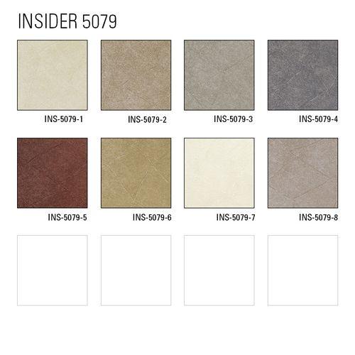 Pleister-look behang Atlas INS-5079-7 structuur behang gestempeld mat wit licht-ivoorkleurig zuiver wit 7,035 m2 – Bild 6