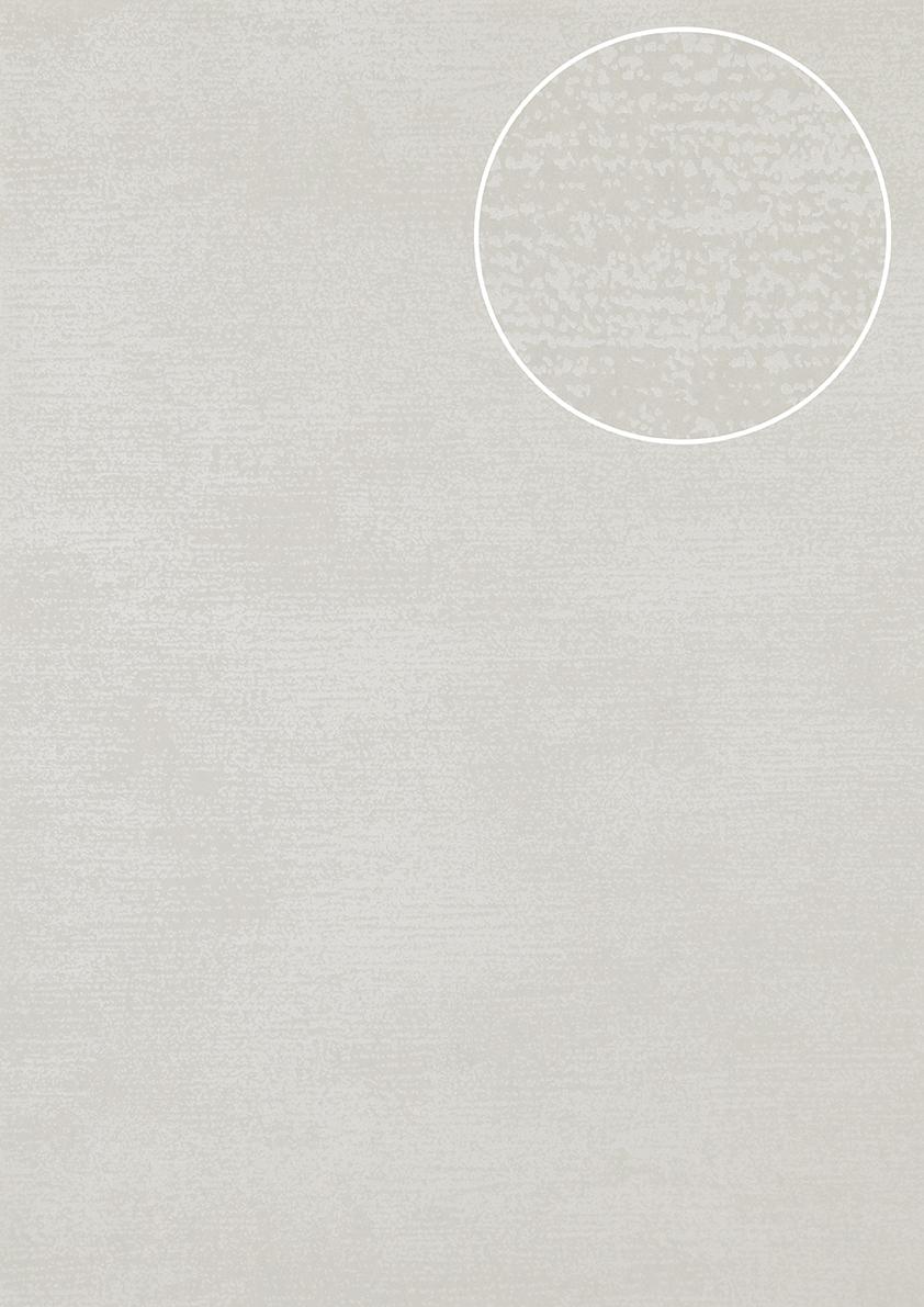 Ton in ton tapete atlas sig 587 6 vliestapete glatt mit for Tapete grau mit muster