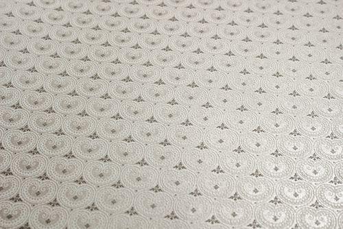 Barock Tapete Atlas PRI-5048-3 Vliestapete glatt mit Ornamenten schimmernd grau grau-aluminium silber quarz-grau 5,33 m2 – Bild 2