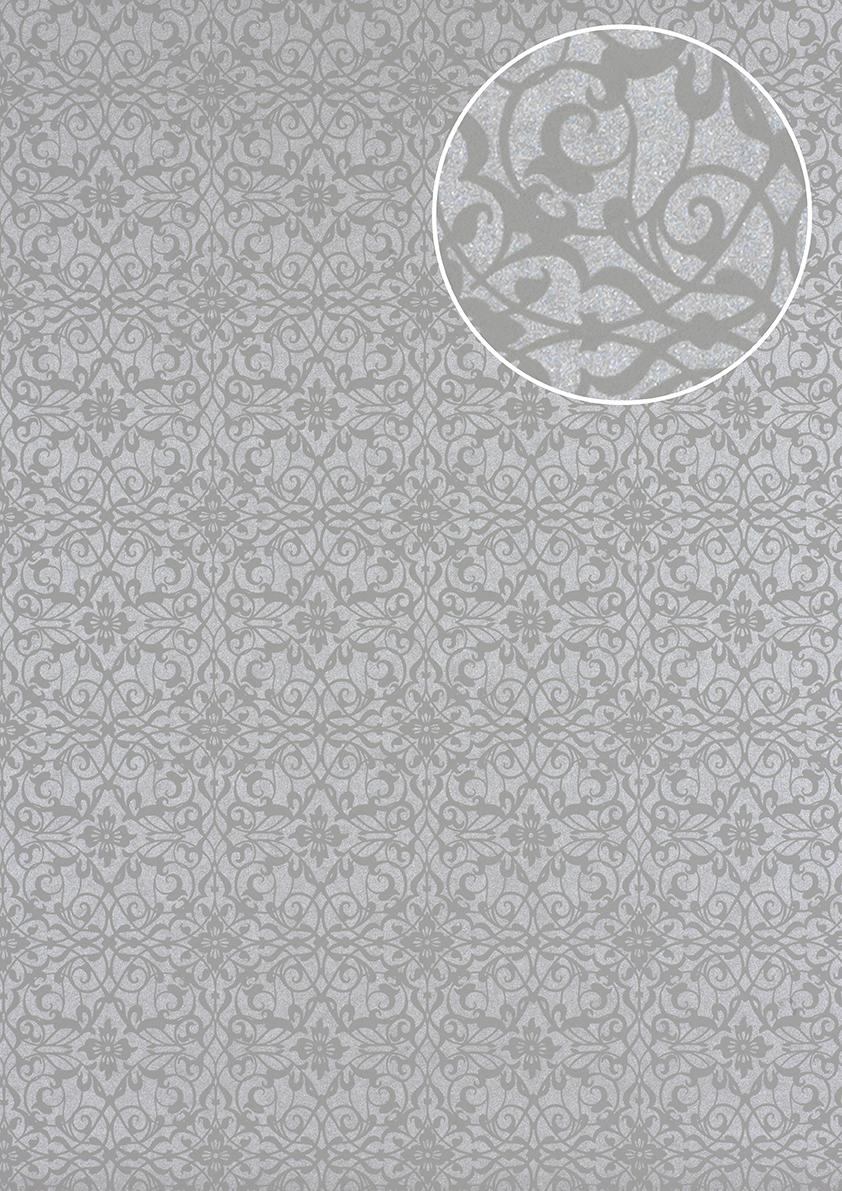barock tapete atlas pri 498 4 vliestapete glatt mit. Black Bedroom Furniture Sets. Home Design Ideas