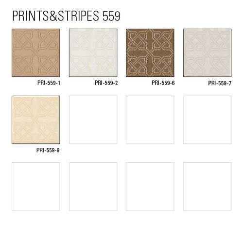 Grafik Tapete Atlas PRI-559-2 Vliestapete strukturiert mit Ornamenten schimmernd weiß perl-weiß rein-weiß 5,33 m2 – Bild 5