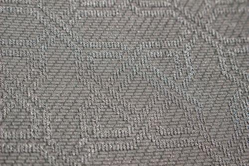 Grafisch behang Atlas PRI-559-7 vliesbehang gestructureerd met ornamenten glanzend grijs blank-aluminiumkleurig zijdegrijs zilvergrijs 5,33 m2 – Bild 2