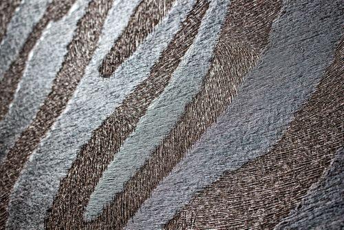 Tiermotiv Tapete Atlas SKI-5069-6 Vliestapete geprägt mit Zebramuster schimmernd braun schokoladen-braun sepia-braun schwarz-braun 7,035 m2 – Bild 2