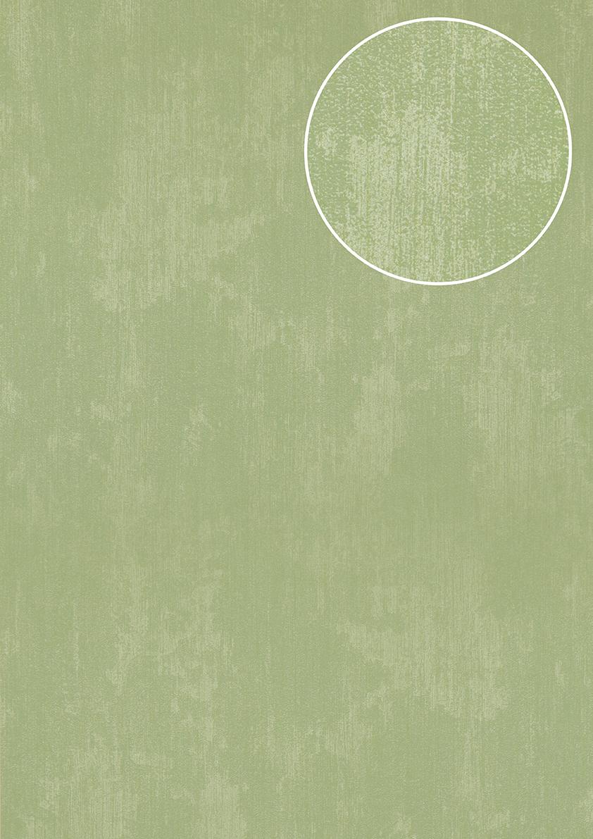 atlas tem 5112 9 uni tapete spachteloptik schimmernd wei gr n 7 035 m2 ebay. Black Bedroom Furniture Sets. Home Design Ideas