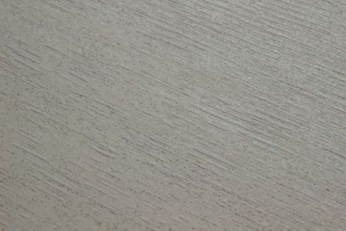 Uni Tapete Atlas TEM-5114-1 Vliestapete strukturiert im Shabby Chic Stil schimmernd creme perl-weiß rein-weiß seiden-grau 7,035 m2 – Bild 2